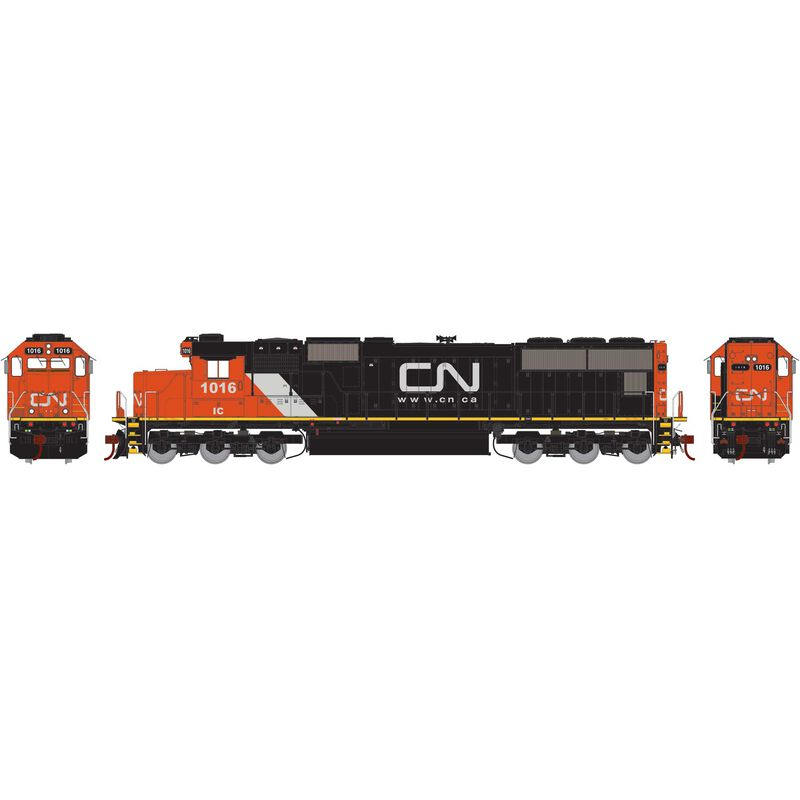 HO SD70 with DCC & Sound, CN #1016