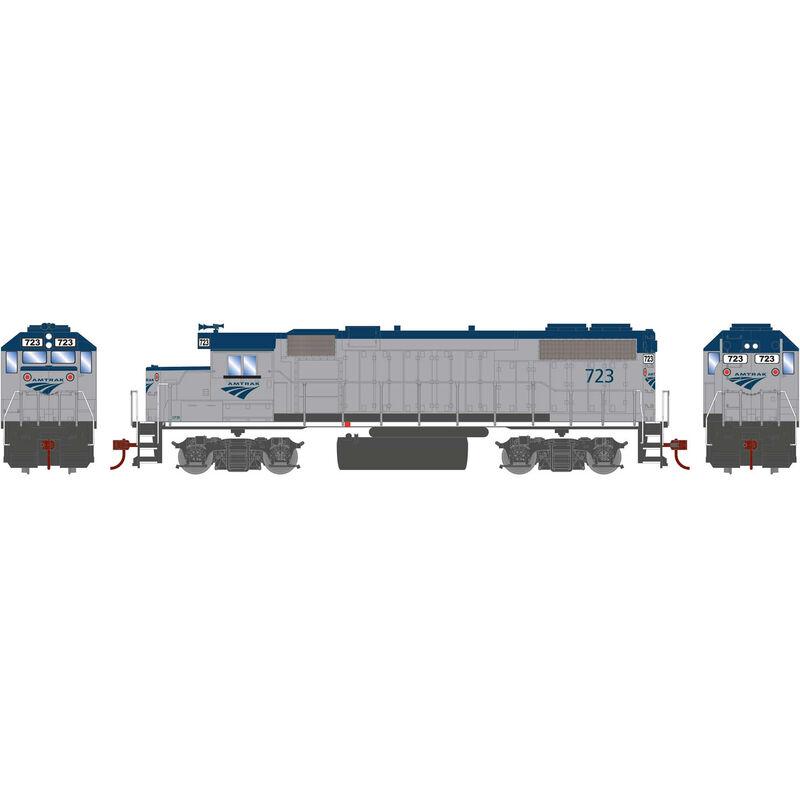 HO GP38-2 with DCC Decoder Amtrak #723