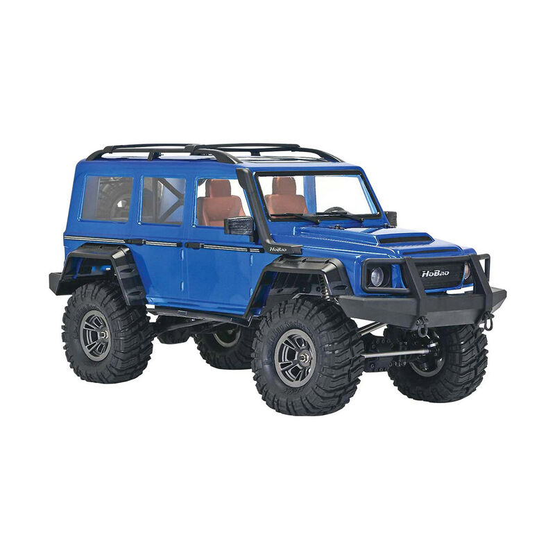 1/10 DC-1 4WD Trail Crawler Brushed RTR, Blue