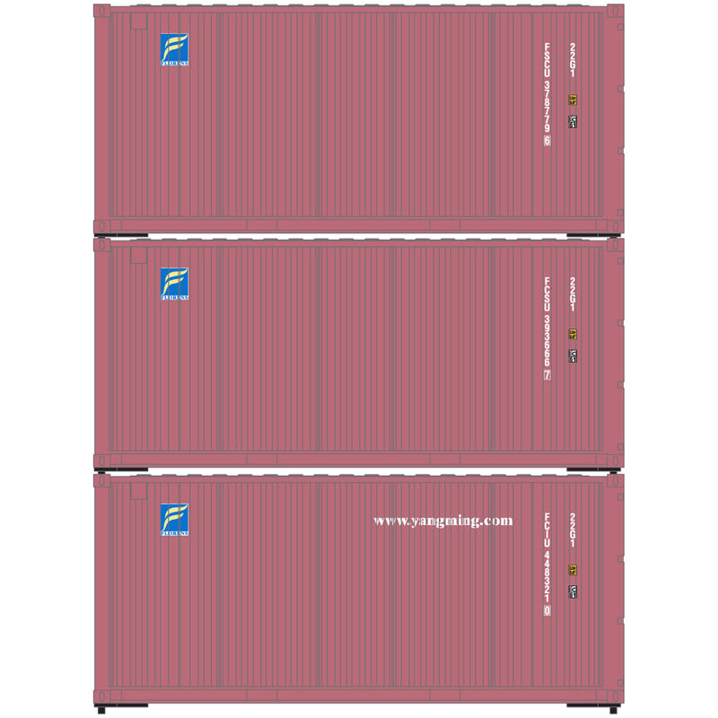 HO RTR 20' Corrugated Container Florens (3)