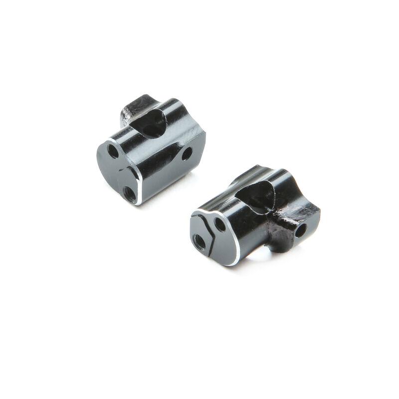 Caster Block, 0 Degree L/R Aluminum: Mini-T 2.0