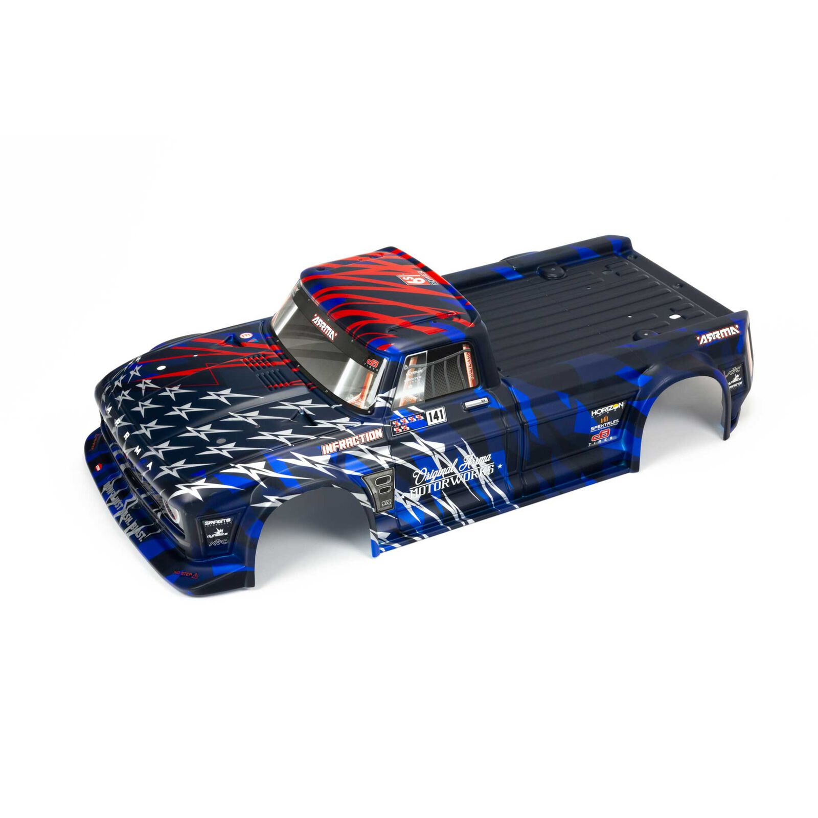 Painted Body, Blue/Red: INFRACTION 6S BLX