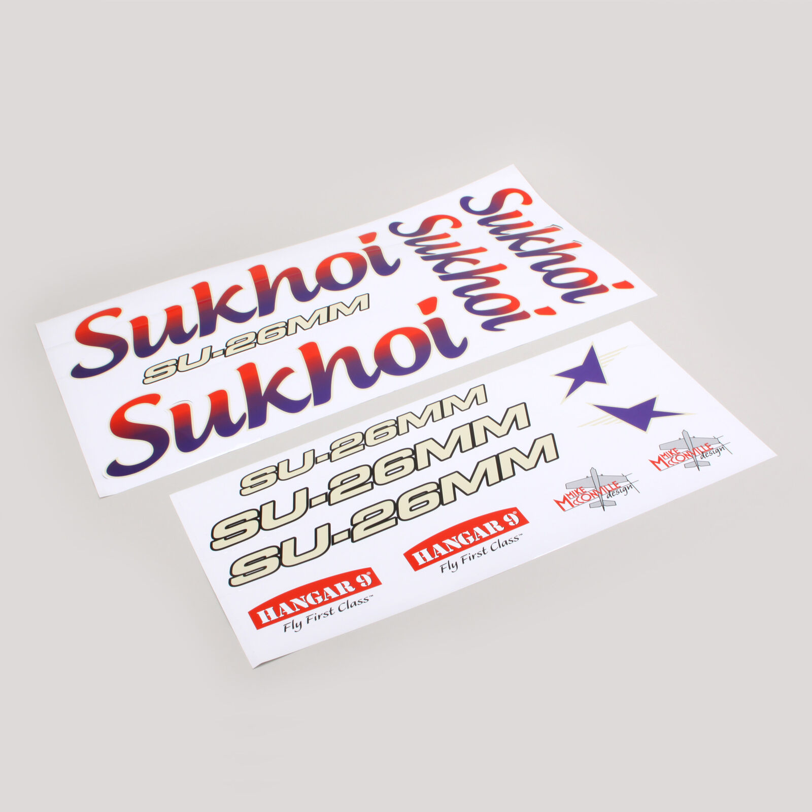 Decal Sheet: 3.1m Sukhoi SU-26MM