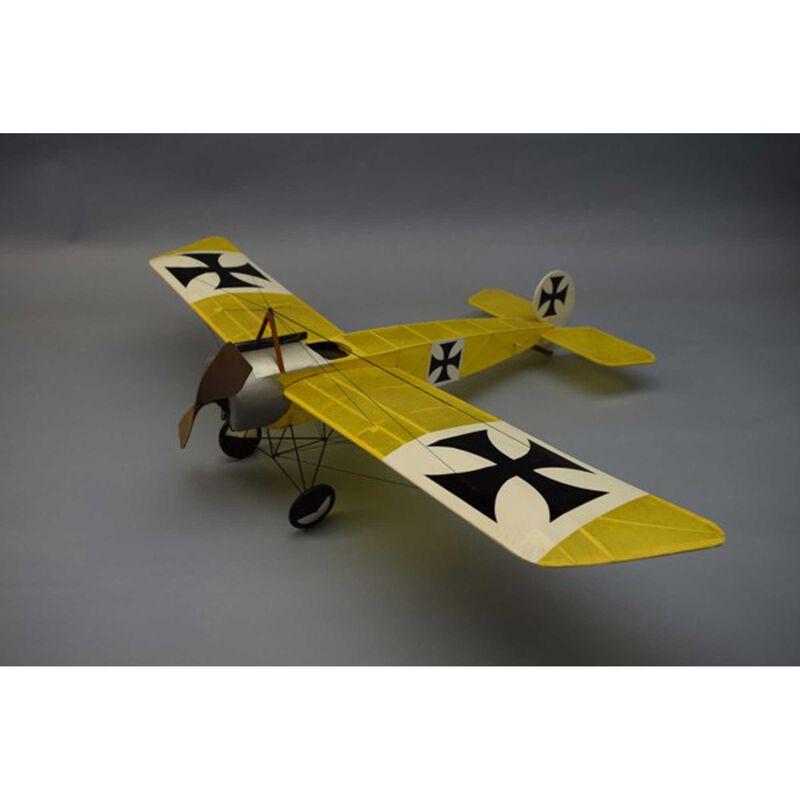 """Fokker Eindecker E.III Rubber Powered Kit, 30"""""""