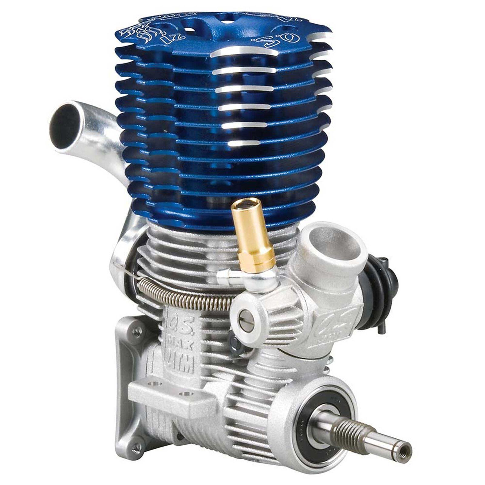 21TM ABC .21 Engine with Manifold: 2.5 and 3.3 Revo