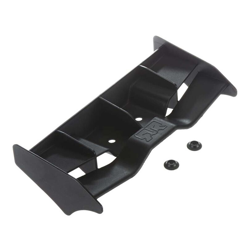 Wing 204mm Rear Black