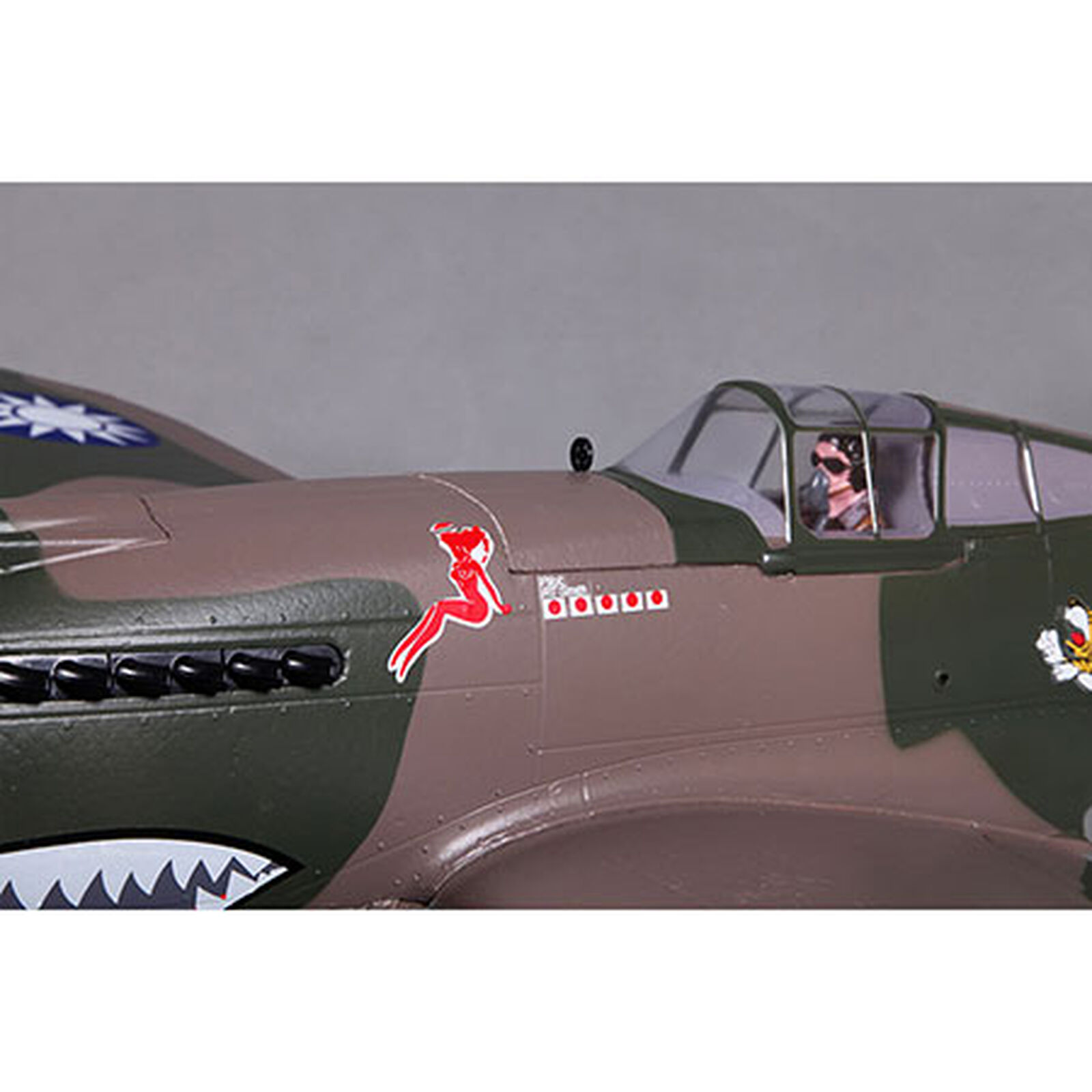 P-40B Flying Tiger PNP, 980mm