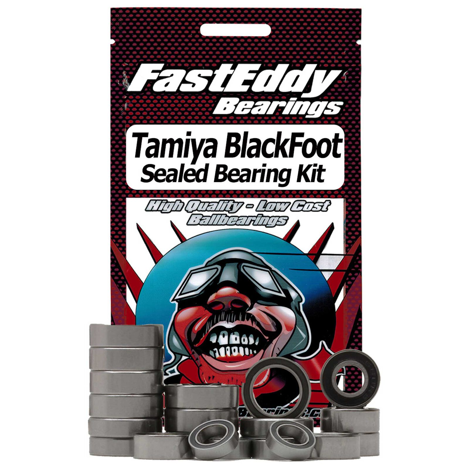 Sealed Bearing Kit: Tamiya BlackFoot (58038)