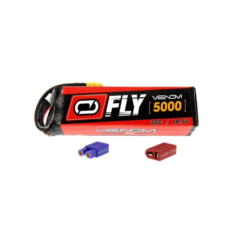 18.5V 5000mAh 5S 30C FLY LiPo Battery: UNI 2.0 Plug
