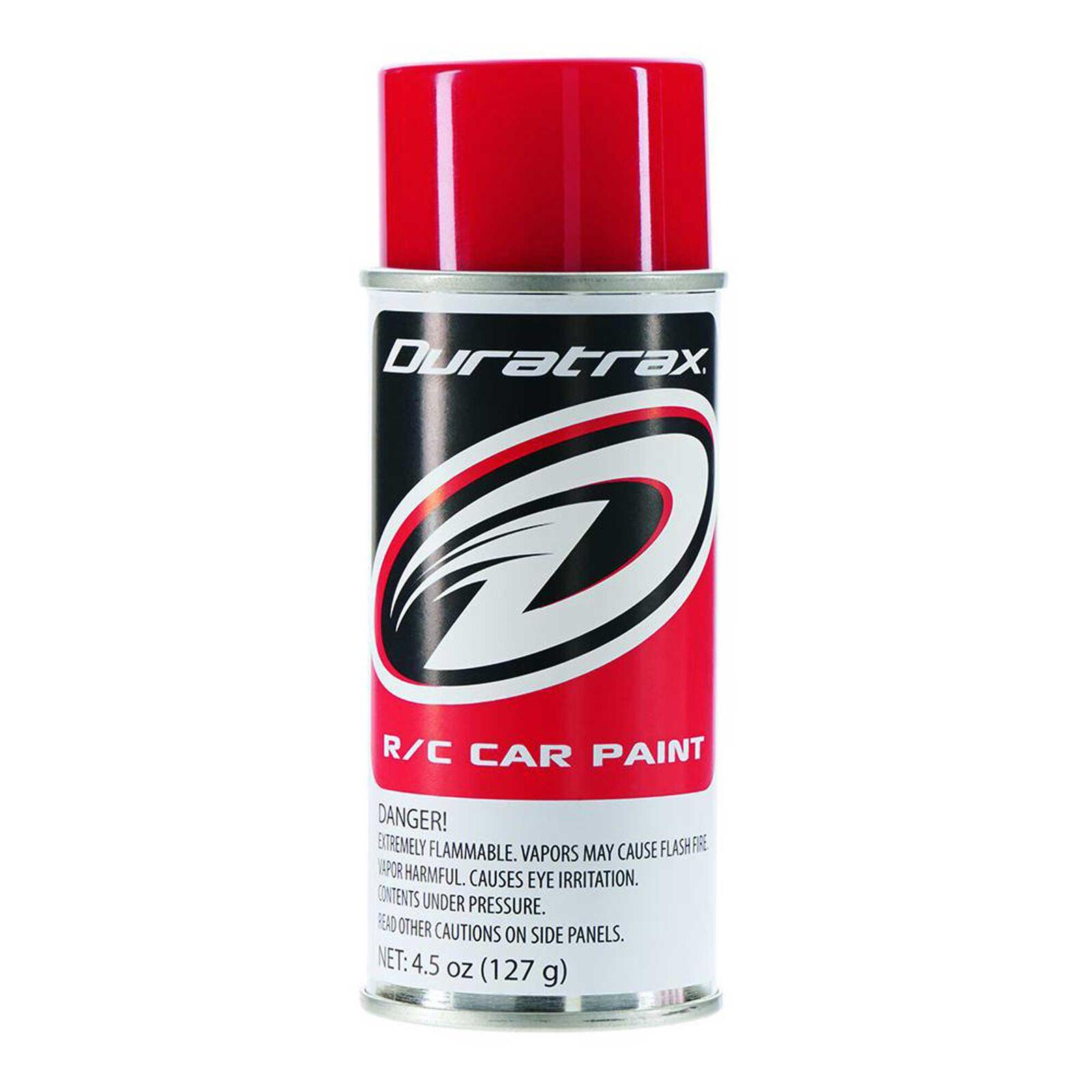 Polycarb Spray, Racing Red, 4.5 oz
