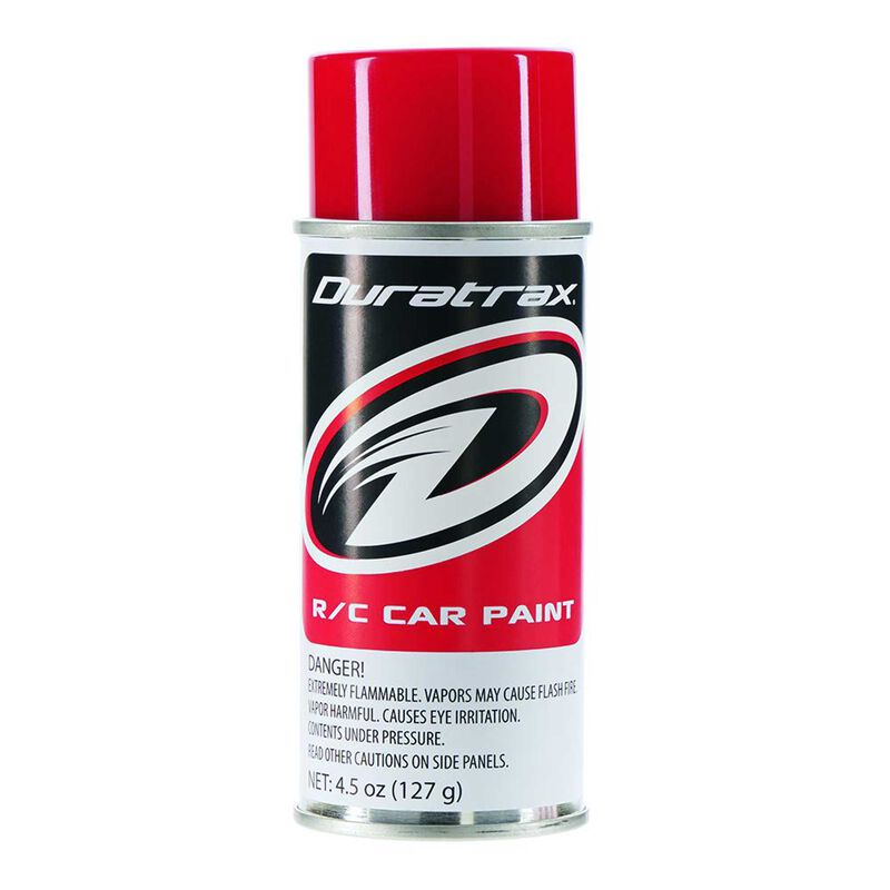 Polycarb Spray, Racing Red, 4.5 oz