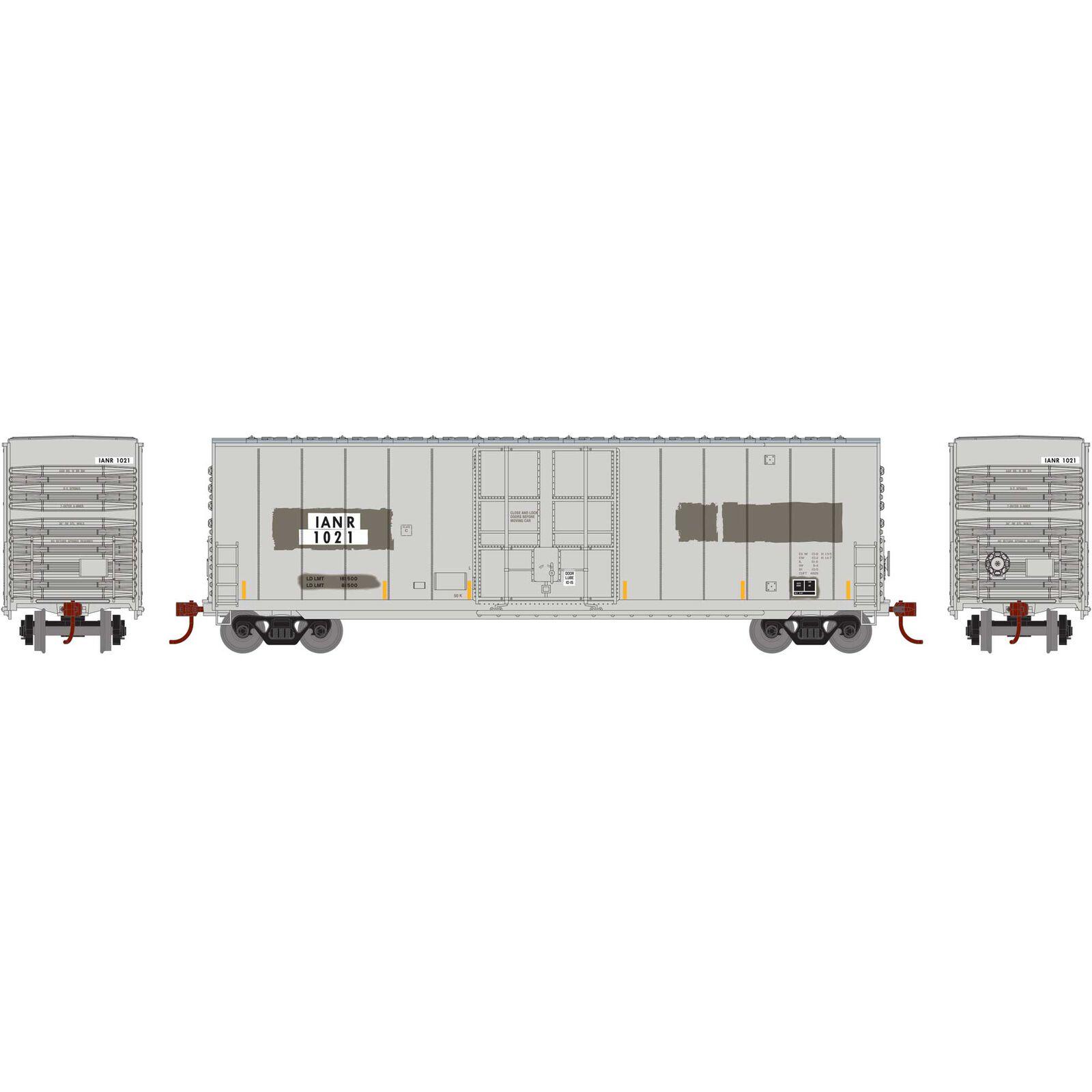 N 50' Smooth High Cube Plug Door Box, IANR #1021