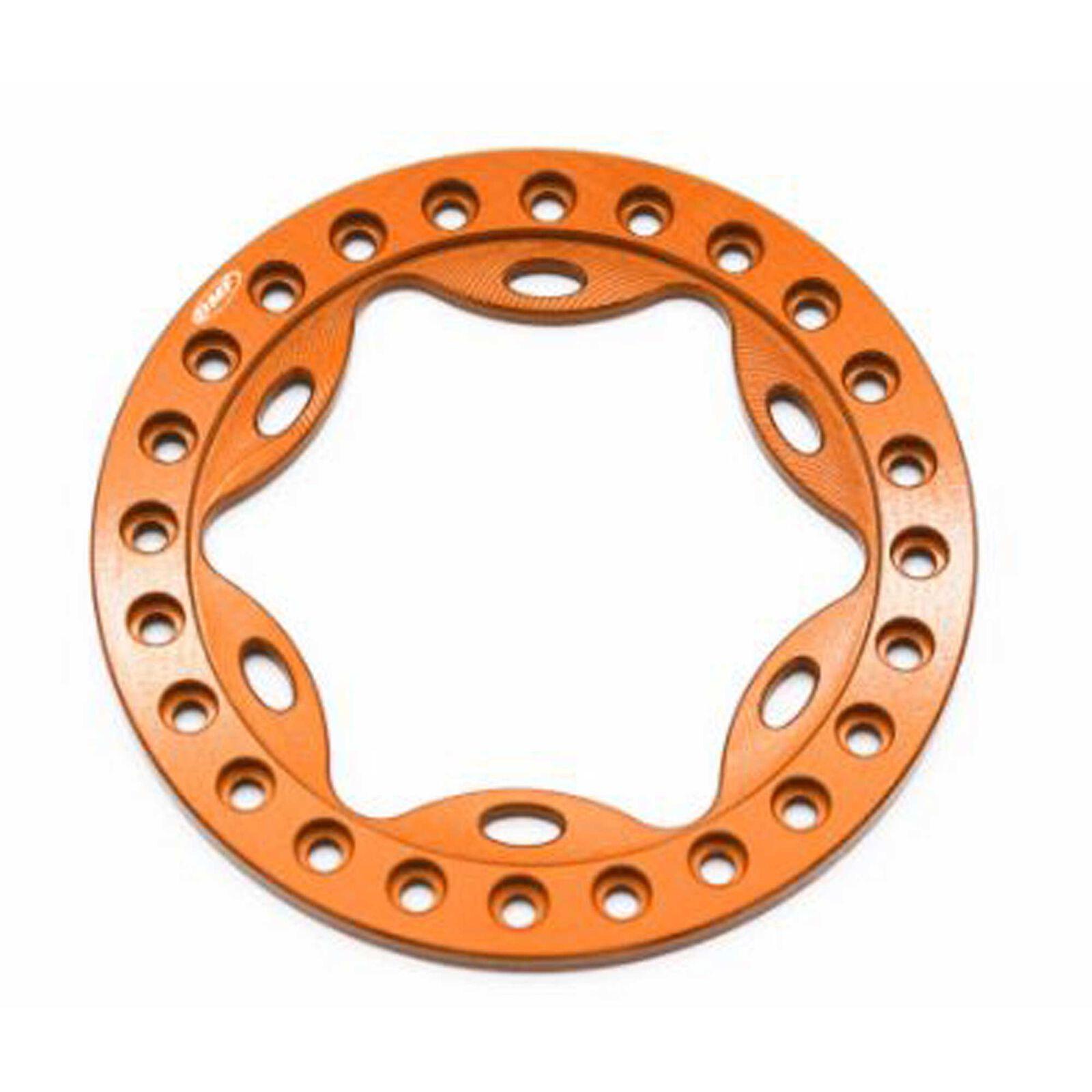 OMF 1.9 Scallop Beadlock Orange Anodized
