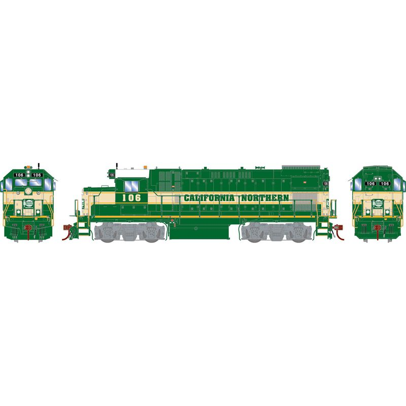 HO GP15-1 w/DCC & Sound, CFNR/Baby Wings #106