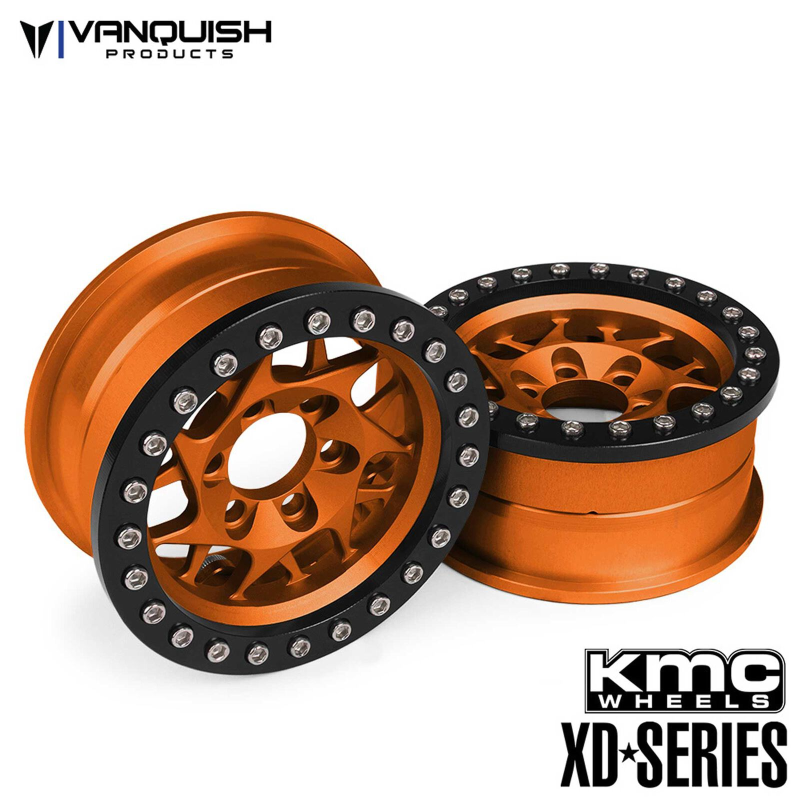 KMC 1.9 XD127 Bully, Orange Anodized