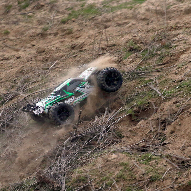 1/10 TEN-MT 4WD Brushless RTR with AVC, Green