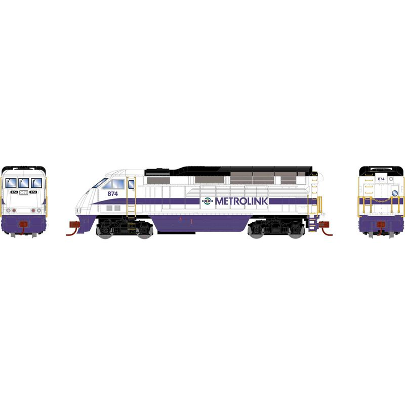 N F59PHI with DCC & Sound, SCAX #874