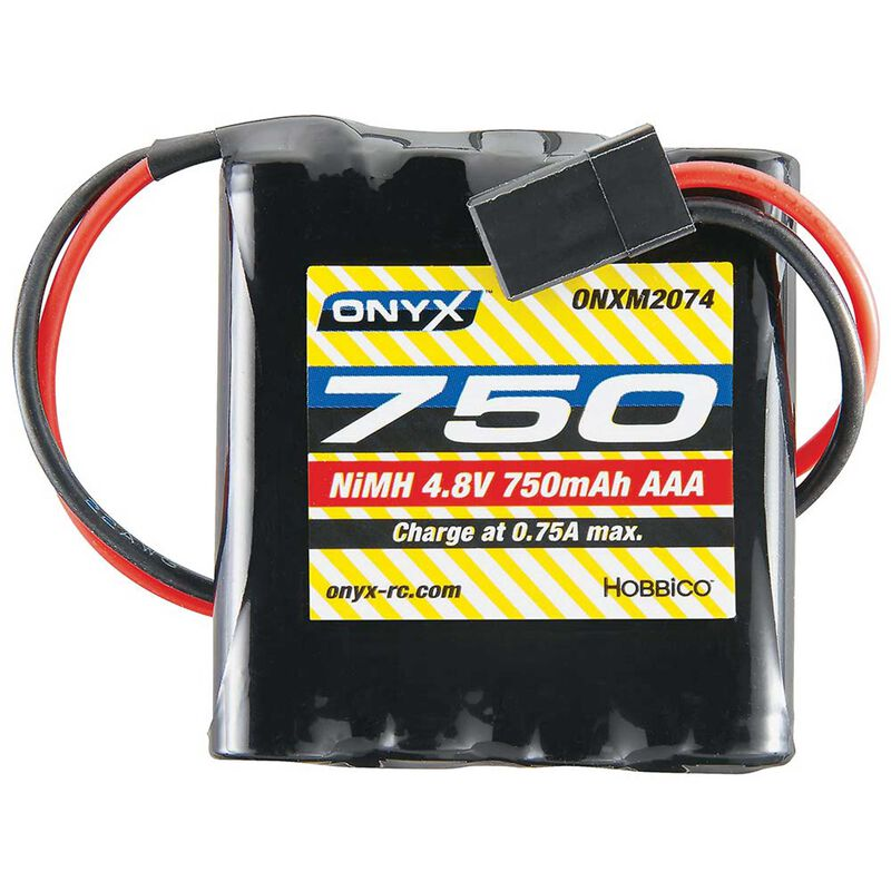 4.8V 750mAh NiMH AAA Flat Receiver Battery: Universal Receiver