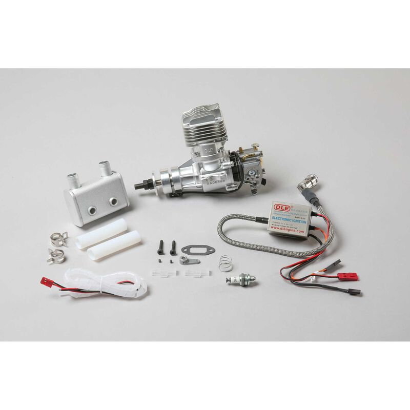 DLE-20RA Gas Rear Exhaust with Electronic Ignition