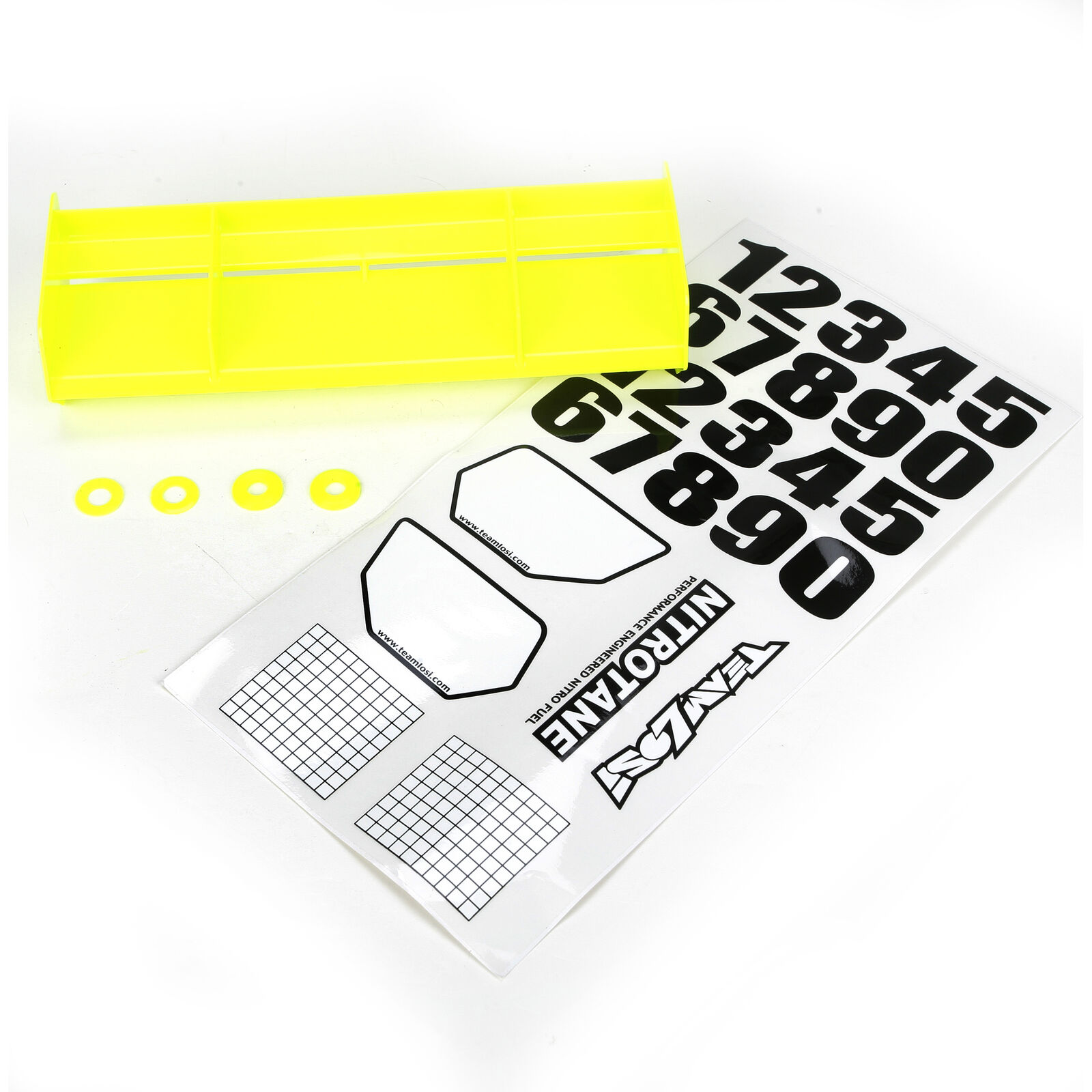 1/8 Universal Wing Kit, Yellow