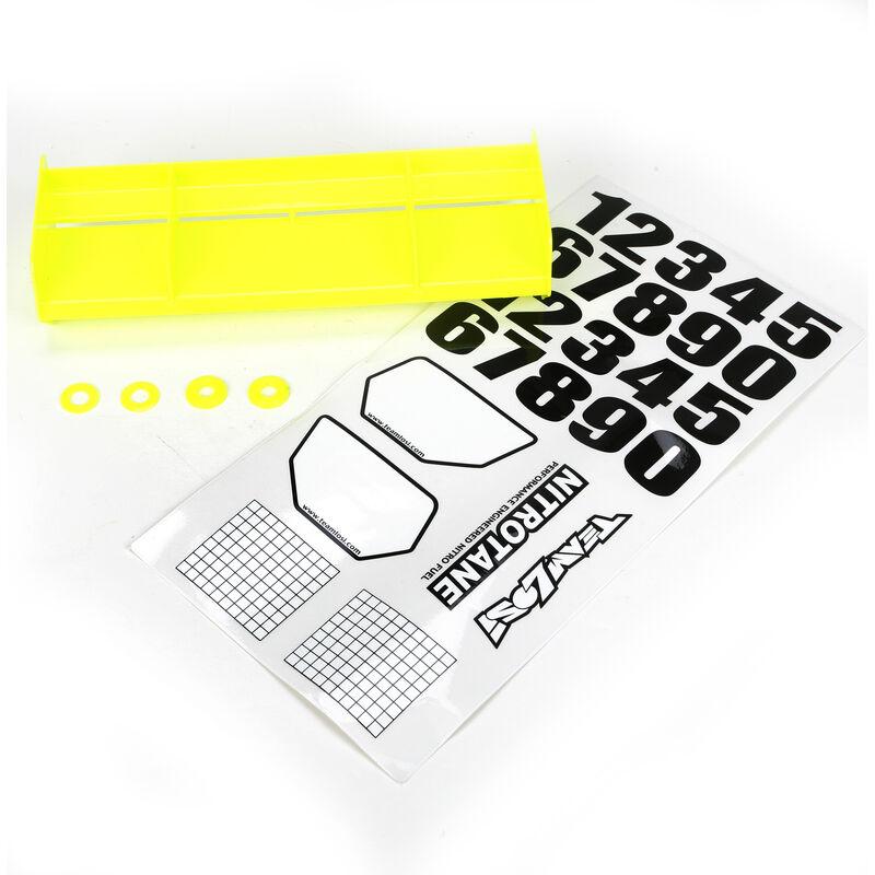 1/8 Universal Wing Kit, Yellow