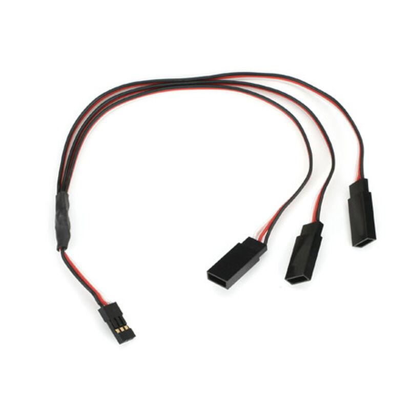 Y-Harness: Triple Plug