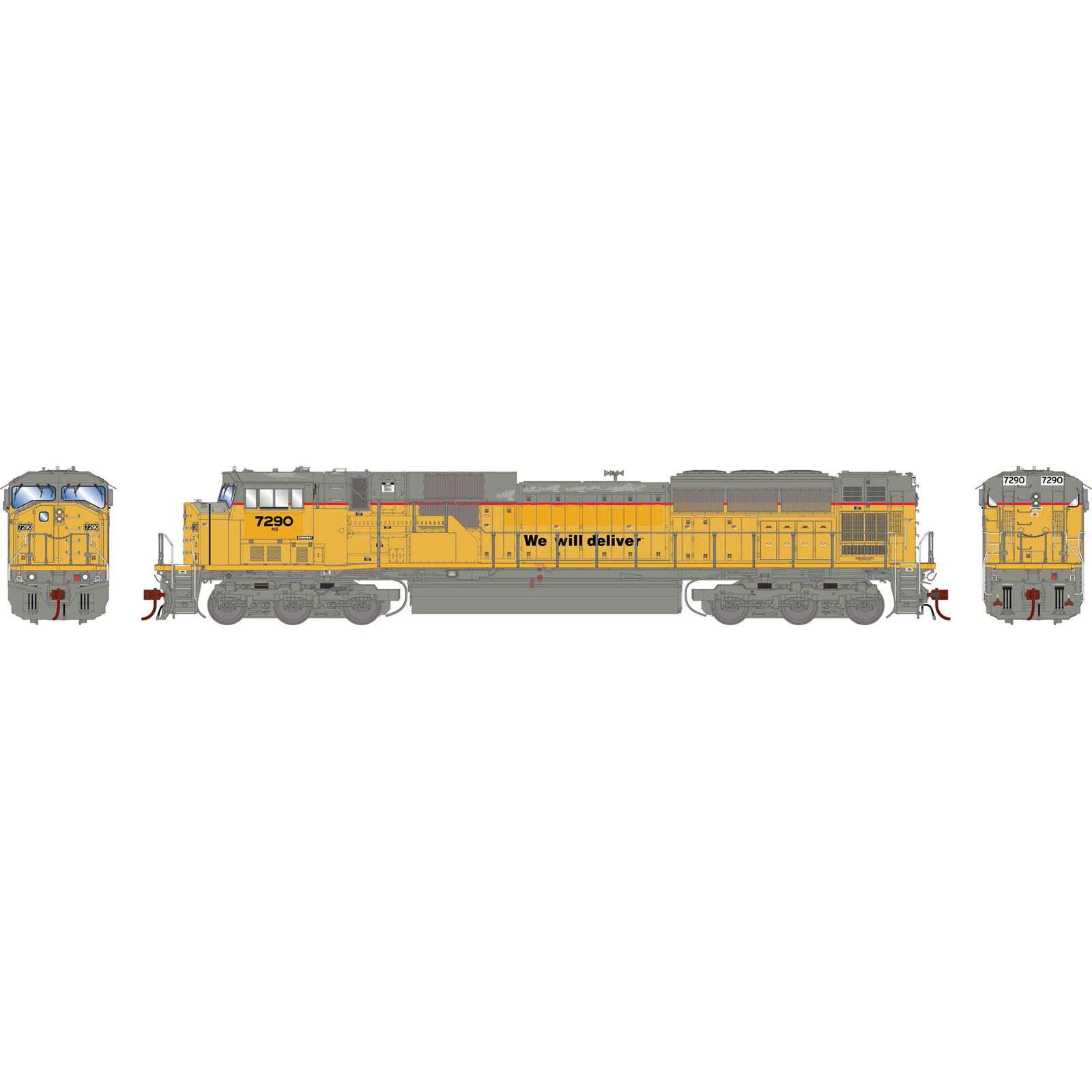 HO G2 SD90MAC with DCC & Sound, NS #7290