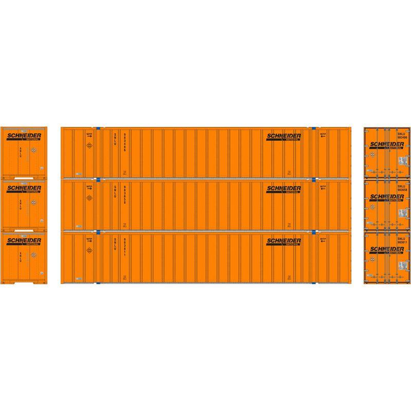 N 53' Stoughton Container, Schneider (3)