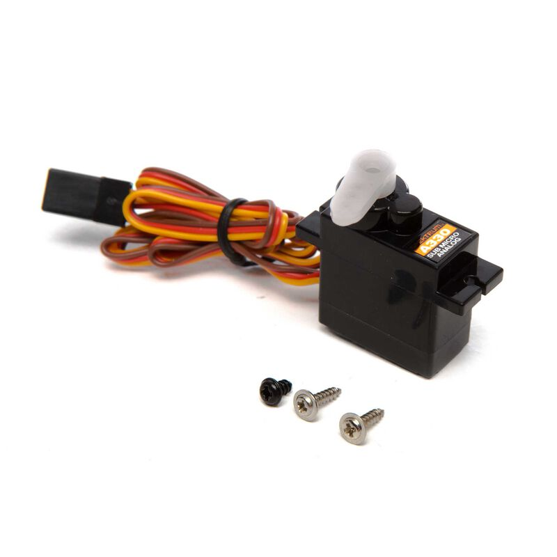 A330 Sub-Micro Analog 9g Aircraft Servo, Reversed