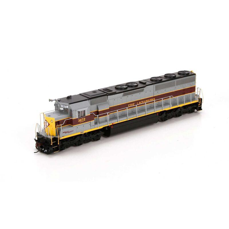 HO SD45-2 with DCC & Sound EL #3672