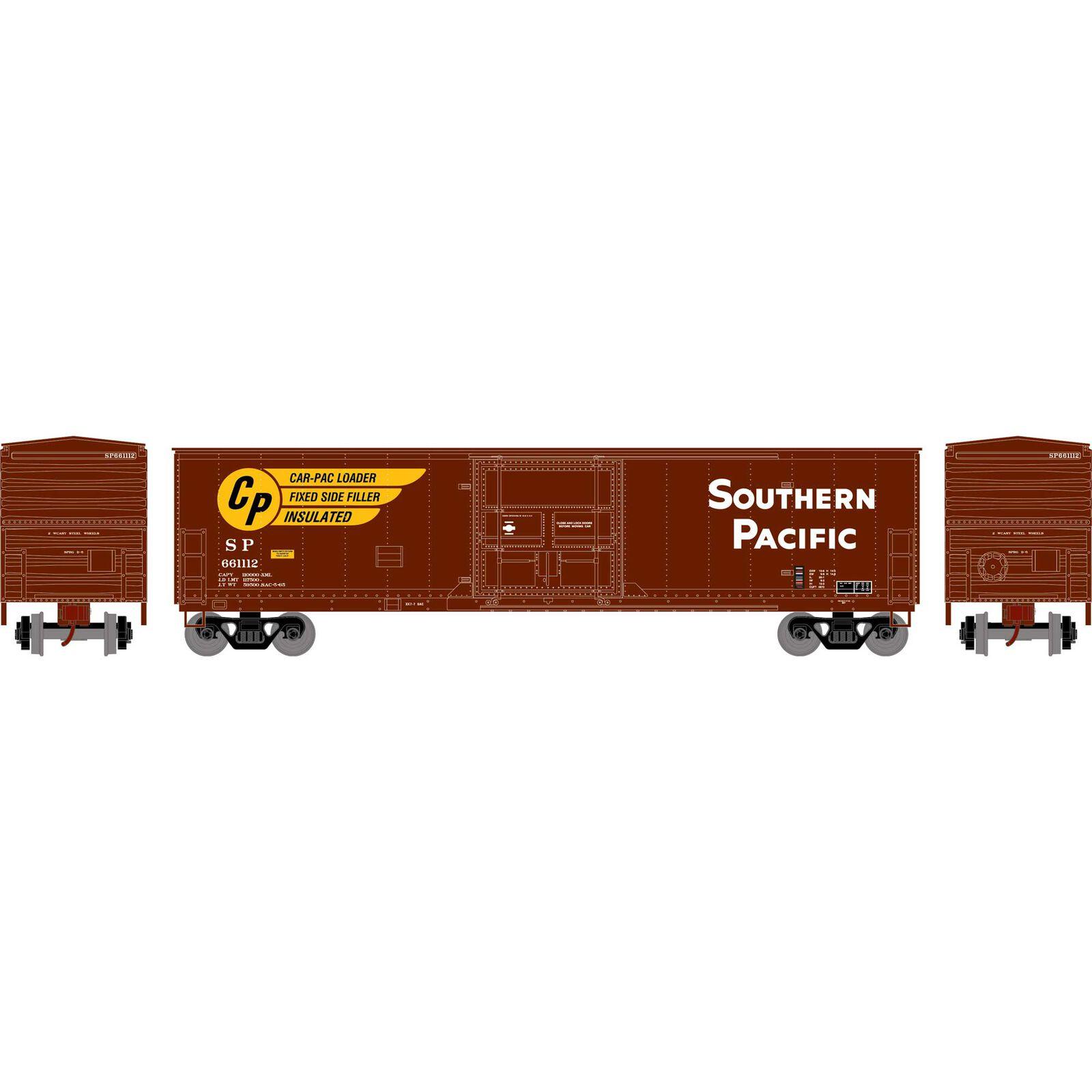 HO RTR 50' Superior Plug Door Box, SP #661112