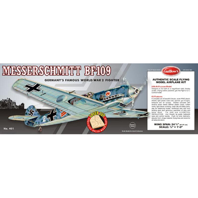 """Messerschmitt BF-109 Laser Cut Kit, 24.5"""""""