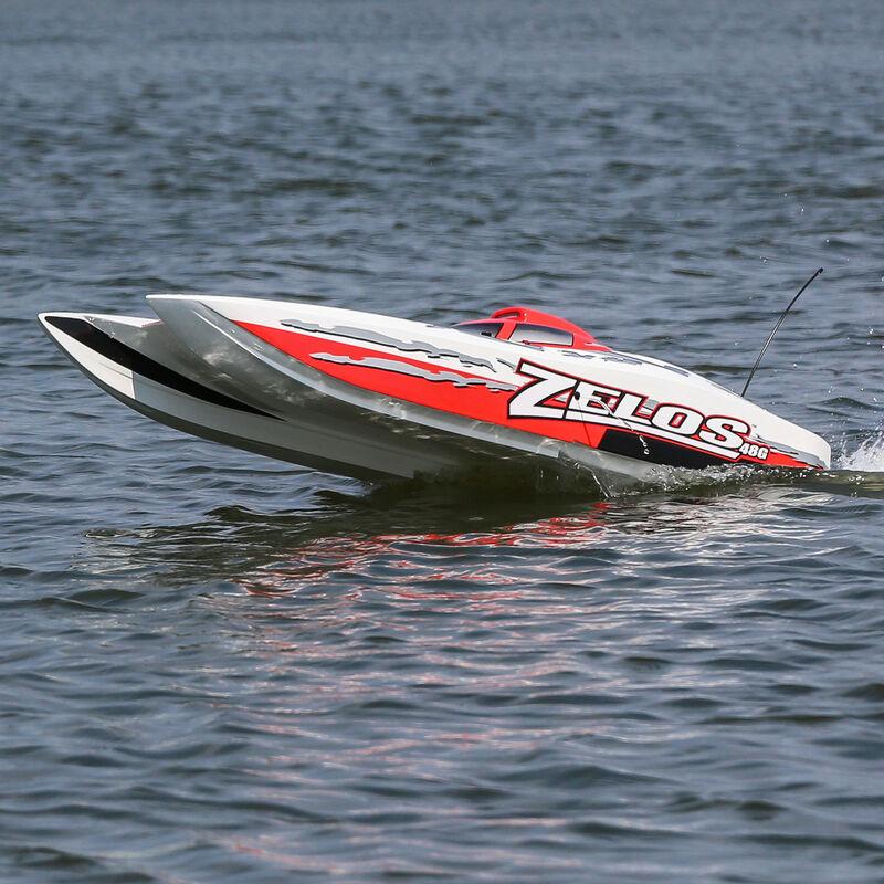 """Zelos G 48"""" Gas Powered Catamaran RTR"""