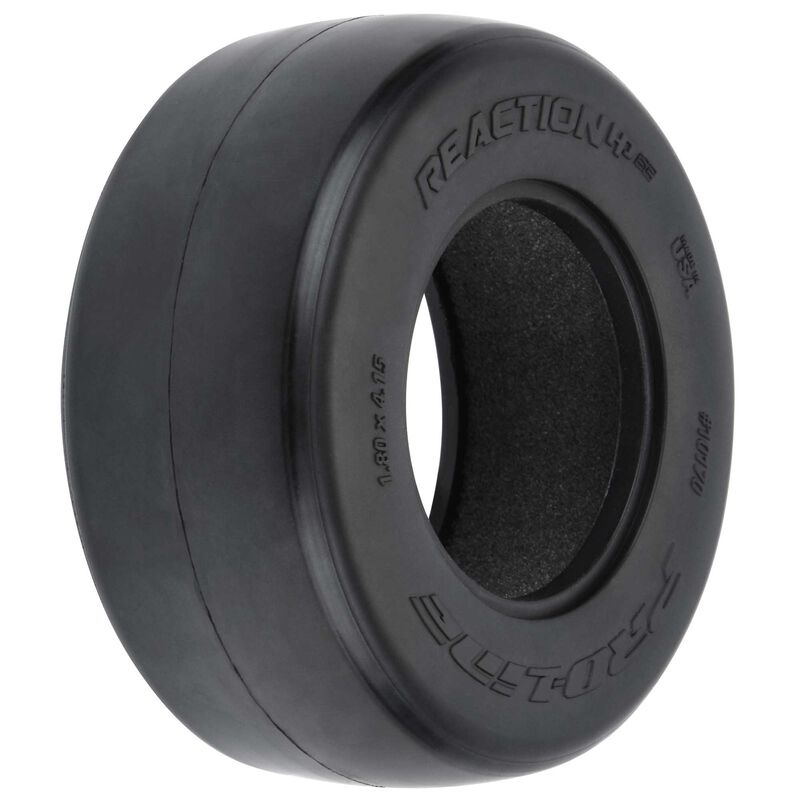 """1/10 Reaction HP BELTED S3 Rear 2.2""""/3.0"""" Drag Racing Tire (2)"""