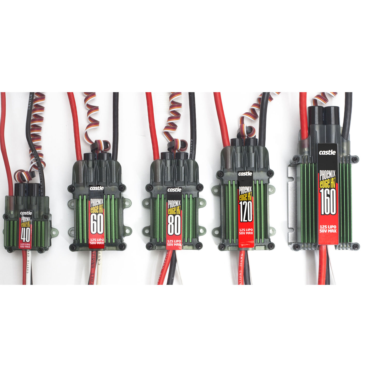 Castle Creations PHX Edge 120 HV 120 Amp Electronic Speed Controller