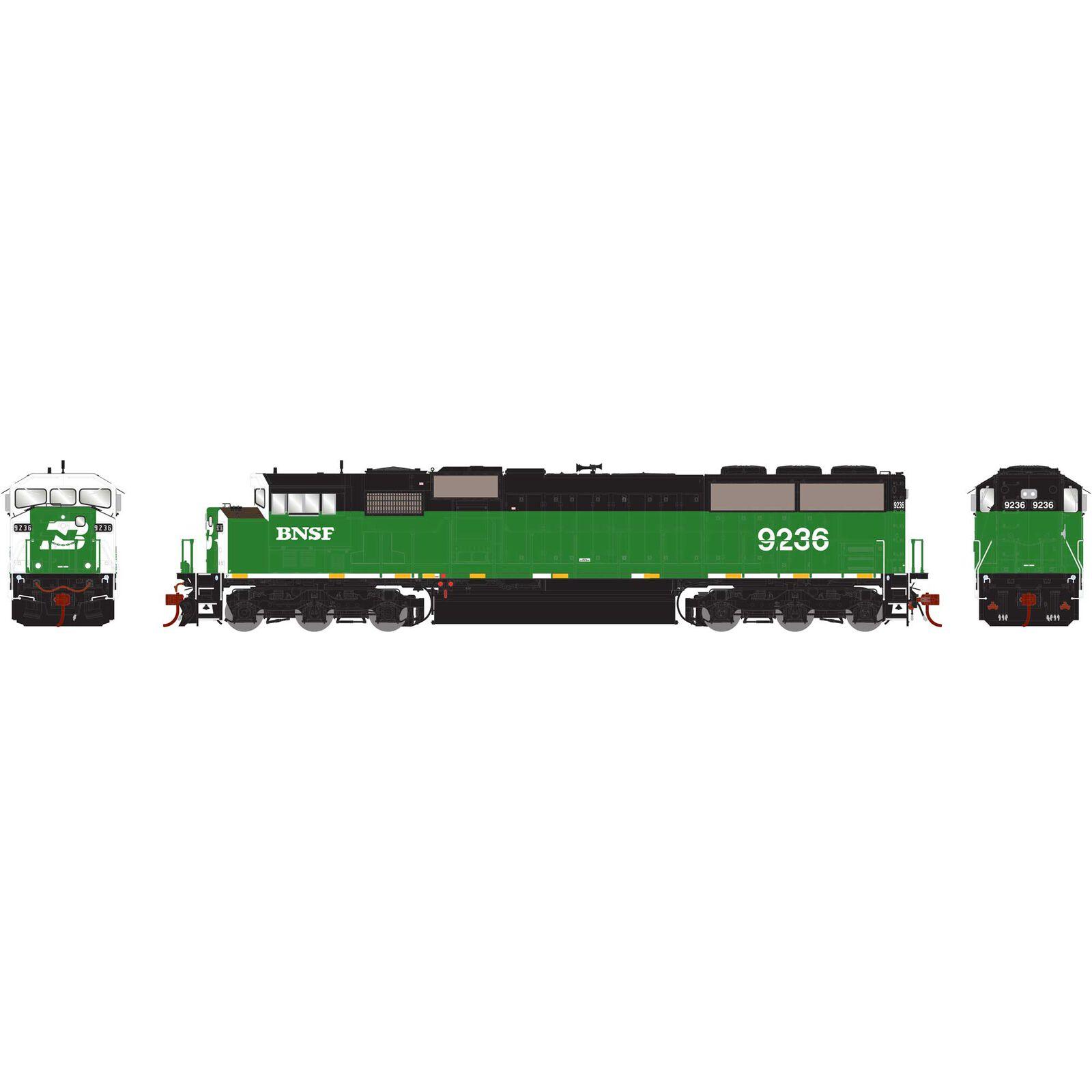HO G2 SD60M Tri-Clops BNSF #9226