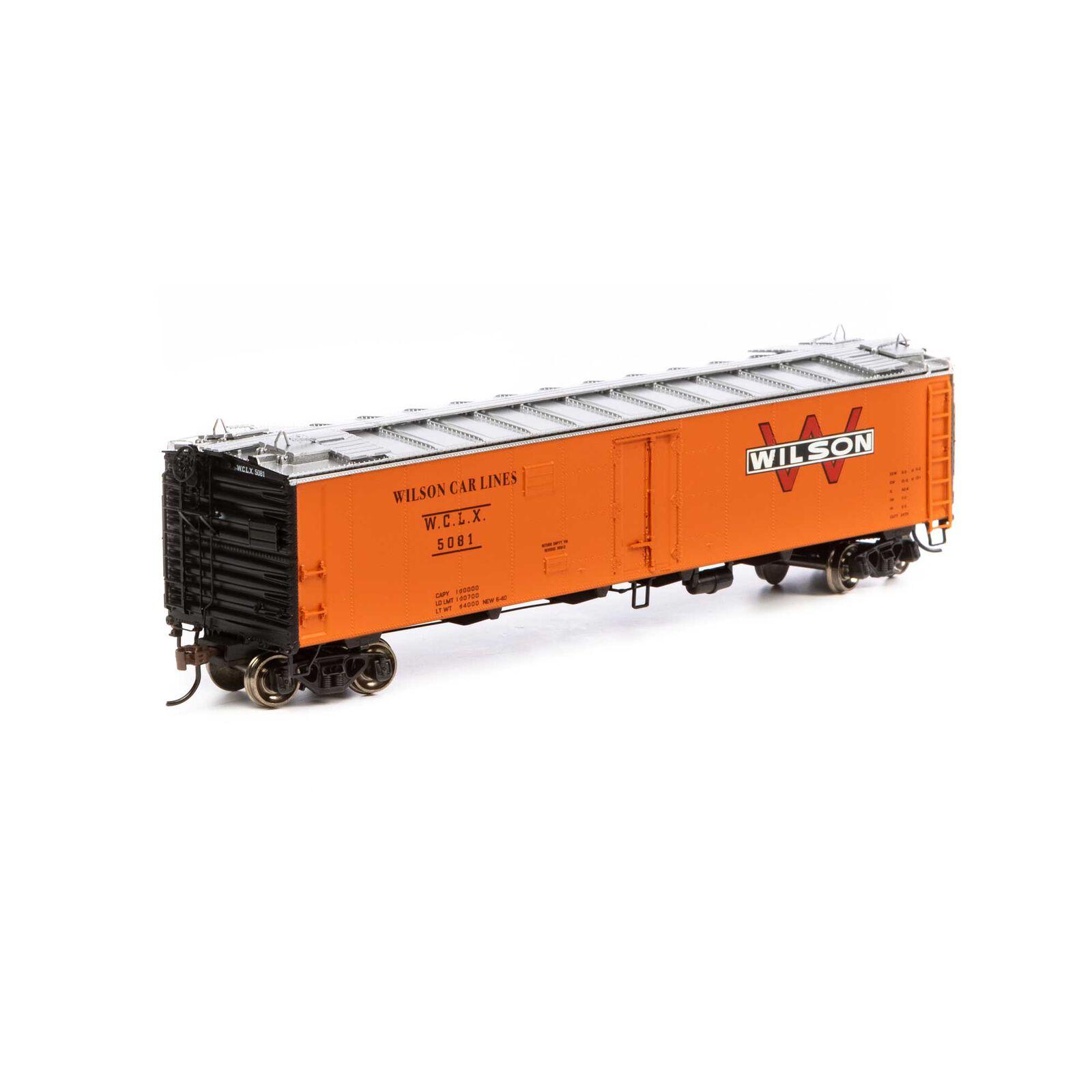 HO RTR 50' Ice Bunker Reefer WCLX #5081