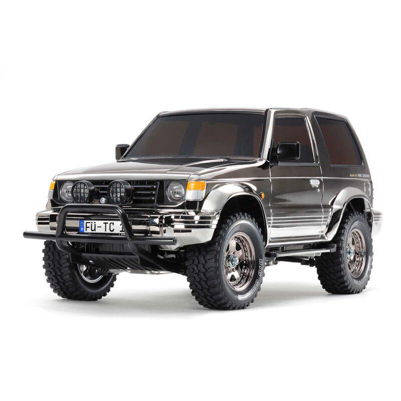 1/10 Pajero Metaltop Wide 4WD CC-01 Limited Edition Kit, Black Metallic