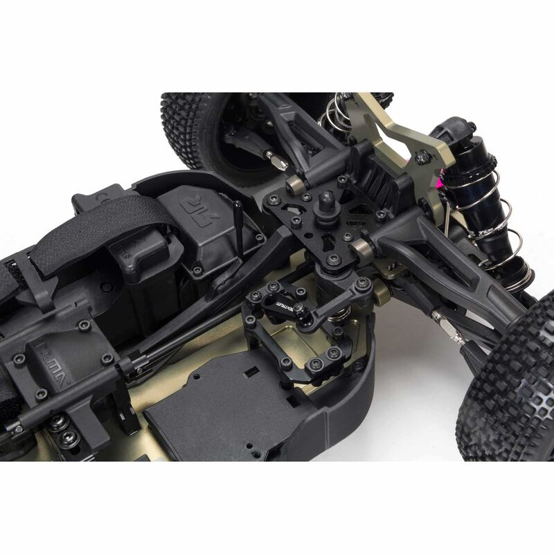 1/8 TLR 튜닝 TYPHON 4WD 롤러 버기, 핑크/퍼플