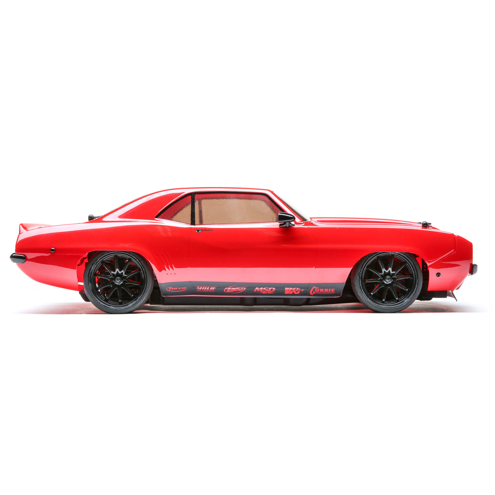1/10 1969 Chevy Camaro V100 AWD Brushed RTR, Red