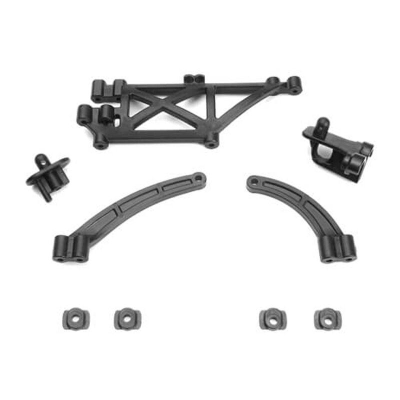 Chassis Brace Body Mount Set: EB410