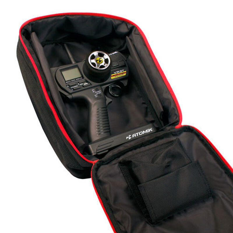 Transmitter Bag, Black & Red