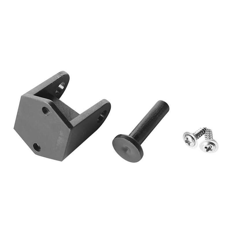 Rudder Support Bracket: P-27 Gunslinger Crackerbox