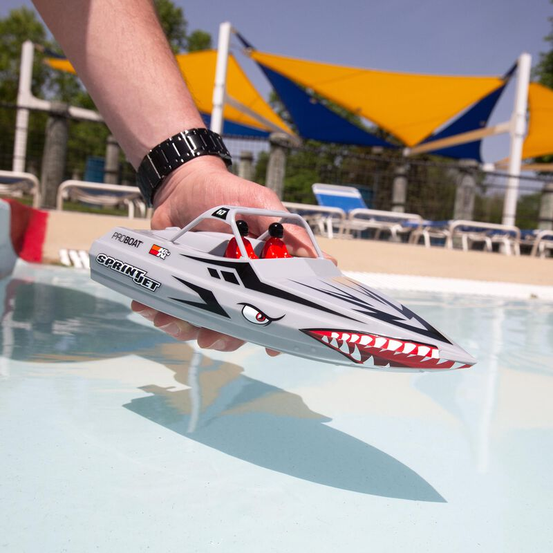 Sprintjet 9-inch Self-Righting Jet boat RTR