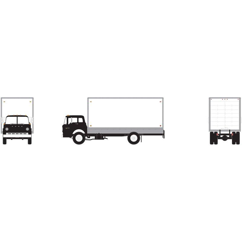 HO RTR Ford C Box Van, Black
