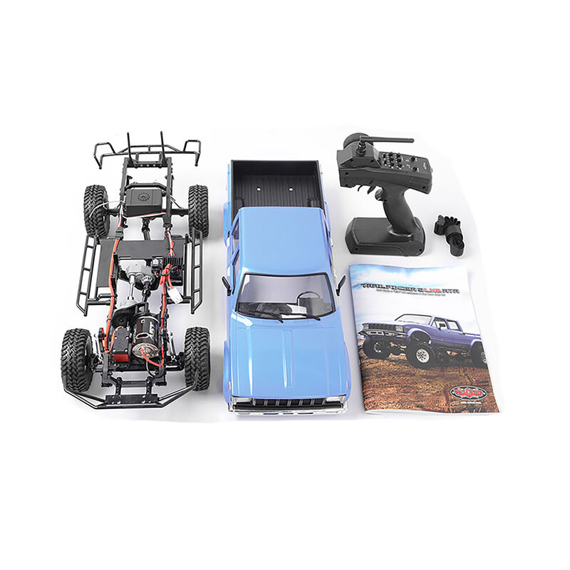 1/10 Trail Finder 2 LWB 4WD Brushed RTR, Mojave II 4-Door Body