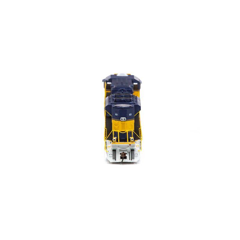 HO SD70M-2 w DCC & Sound FURX #101
