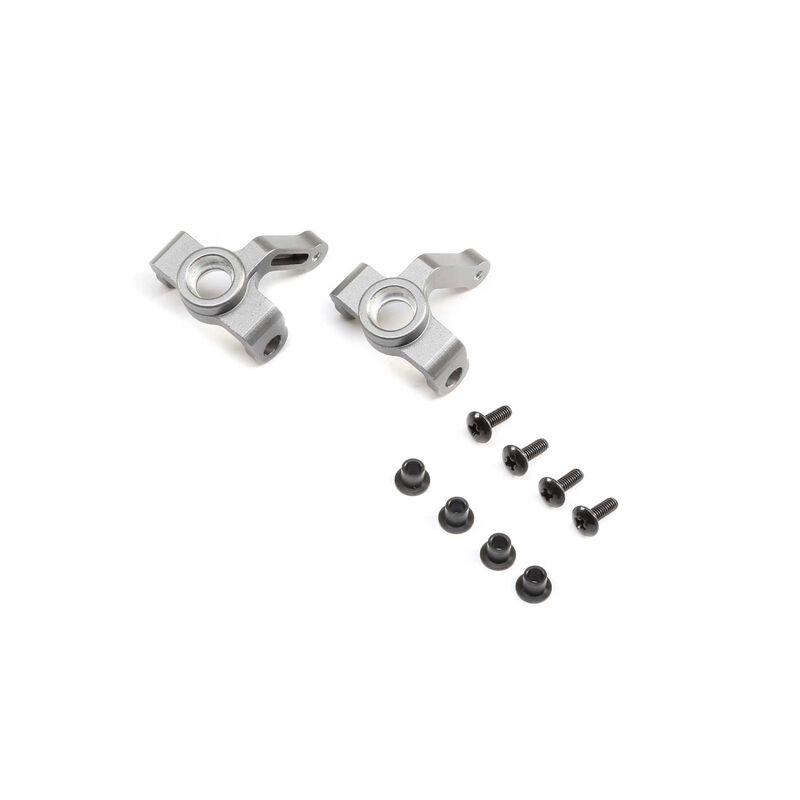Steering Spindle Aluminum (2): 1.9 Barrage Kit/RTR, Doomsday