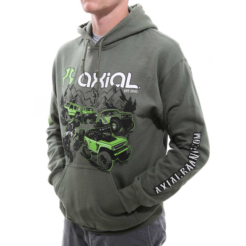Green Hoodie, Small
