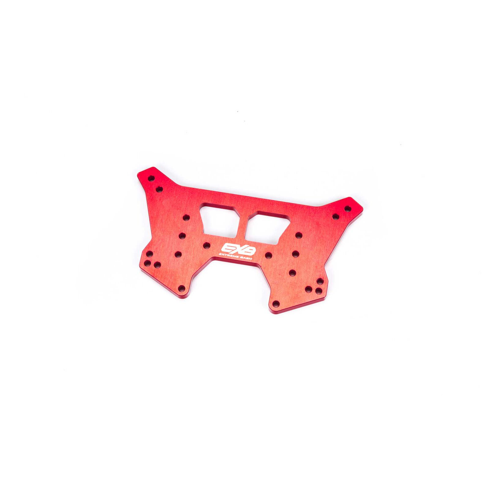 Rear Aluminum Shock Tower CNC 7075 T6 RS, Red: EXB